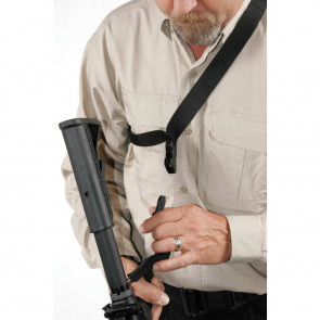 STORM™ SINGLE-POINT SLING - BLACK, QUICK-DISCONNECT