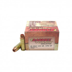 VOR-TX HUNTING HANDGUN AMMUNITION - 45 COLT - 200GR - 20/BX