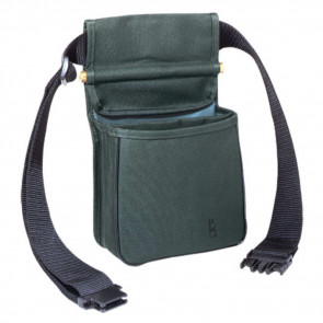 DIVIDED SHELL POUCH - GREEN