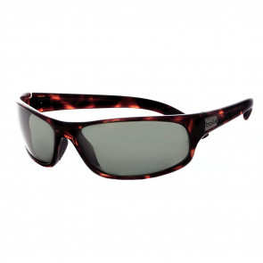 ANACONDA SUNGLASSES, DARK TORTOISE FRAME, POLARIZED GREEN LENS