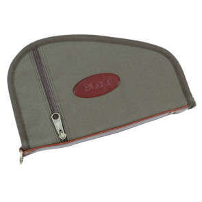 HANDGUN CASE WITH POCKET - OLIVE DRAB - 8""