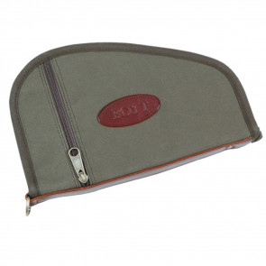 HANDGUN CASE WITH POCKET - OLIVE DRAB - 10""