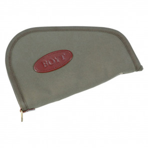 HEART-SHAPED HANDGUN CASE - OLIVE DRAB - 10""
