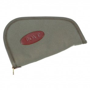 HEART-SHAPED HANDGUN CASE - OLIVE DRAB - 12""