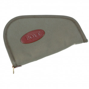 HEART-SHAPED HANDGUN CASE - OLIVE DRAB - 14""