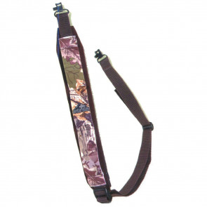 COMFORT STRETCH FIREARM SLINGS WITH SWIVEL - RIFLE, MOSSY OAK BREAK-UP