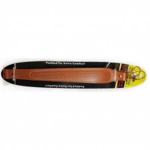 LEATHER COBRA SLING - BASKET WEAVE, 1""