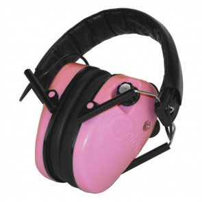 E-MAX LOW PROFILE PINK HEARING PROTECTION