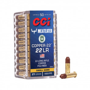 COPPER-22 - .22LR, CHP, 21GR, 50RD/BX