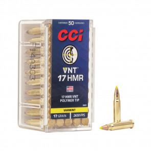 RIMFIRE 17 HMR 17GR VRM TIP A17 50RD/BX