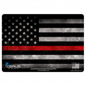 FIREFIGHTER SUPPORT - THIN RED LINE HANDGUN PROMAT