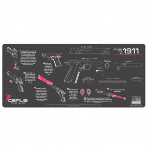 1911 INSTRUCTIONAL PROMAT - CHARCOAL GRAY/PINK