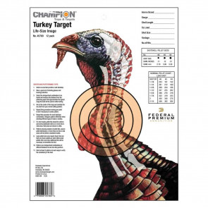 TURKEY SIGHT-IN PAPER TARGETS