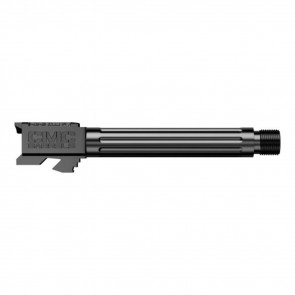 GLOCK 17 FLUTED BARREL THREADED DLC BLACK HXBN