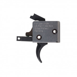 AR15/AR10 SINGLE STAGE TRIGGER, CURVED, LARGE PIN,  4 - 4½ LB PULL