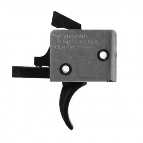 AR15/AR10 SINGLE STAGE TRIGGER, CURVED, 5 - 5½ LB PULL