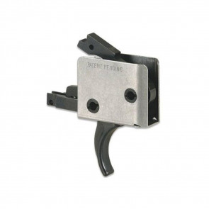 AR15/AR10 SINGLE STAGE TRIGGER, CURVED, LARGE PIN,  5 - 5½ LB PULL