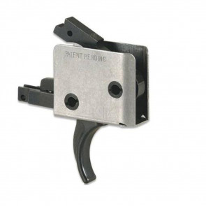 AR15/AR10 SINGLE STAGE TRIGGER, CURVED, 6 - 6½ LB PULL