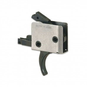 AR15/AR10 SINGLE STAGE TRIGGER, CURVED, LARGE PIN,  6 - 6½ LB PULL