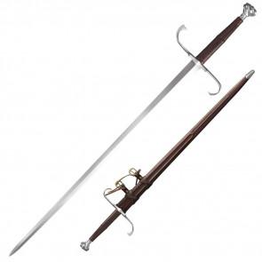 GERMAN LONG SWORD 46IN OVA 35 1/2IN BLDE