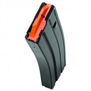 AR-15 MAGAZINE - .223/5.56 - 30 ROUND - BLACK/ORANGE