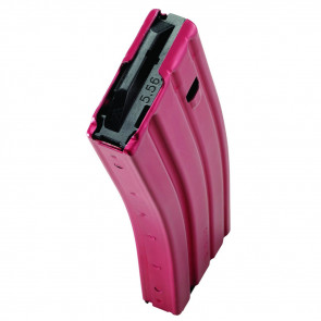 AR-15 MAGAZINE - .223/5.56 - 30 ROUND - RED/BLACK
