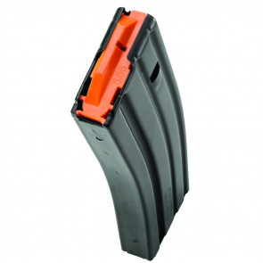 AR-15 MAGAZINE - .223/5.56 - 30 ROUND - BLACK/ORANGE