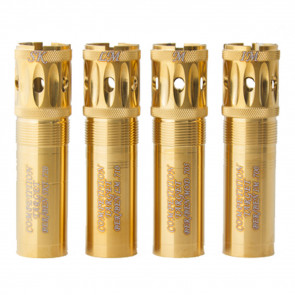 BERETTA BENELLI MOBIL GOLD COMPETITION TARGET PORTED SPORTING CLAYS CHOKE TUBES - 12 GAUGE, .715 DIAMETER, IMPROVED CYLINDER, GOLD