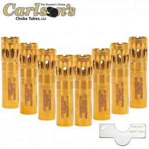 BERETTA BENELLI MOBIL GOLD COMPETITION TARGET PORTED SPORTING CLAYS CHOKE TUBE - 12 GAUGE, .700 DIAMETER, IMPROVED MODIFIED, GOLD