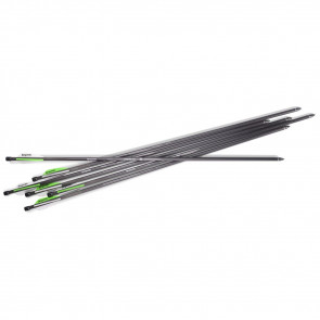 AIRBOW CARB ARROWS SIX PK 375 GR 26IN