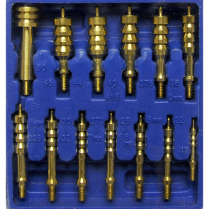 13 PIECE SOLID BRASS JAG SET