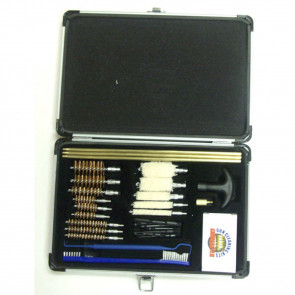 GUNMASTER UNIVERSAL SELECT 30 PIECE GUN CLEANING KIT IN ALUMINUM CASE