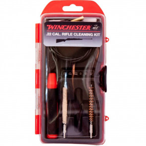 WINCHESTER MINI-PULL RIFLE CLEANING KIT - 12 PIECE - 22 CAL
