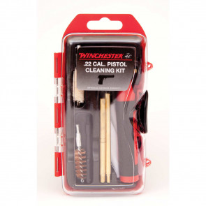 WINCHESTER MINI PISTOL CLEANING KIT - 14 PIECES - 22 CAL