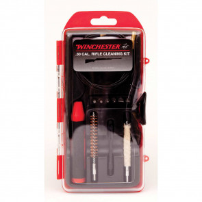 WINCHESTER MINI-PULL RIFLE CLEANING KIT - 12 PIECE -  30 CAL