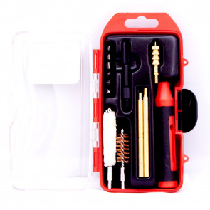 WINCHESTER MINI PISTOL CLEANING KIT - 14 PIECE - 45 CAL