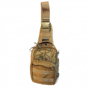 NIGHT STALKER SLING BACKPACK - TAN - SMALL