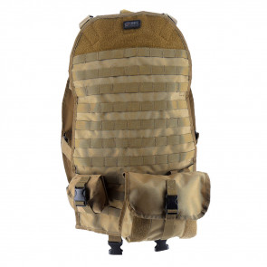 CONVOY MOLLE UNIVERSAL SEAT BACK COVER - TAN