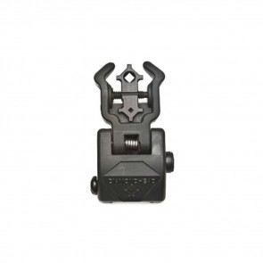 POLYMER DIAMOND FLIP UP REAR SIGHT WITH NITEBRITE