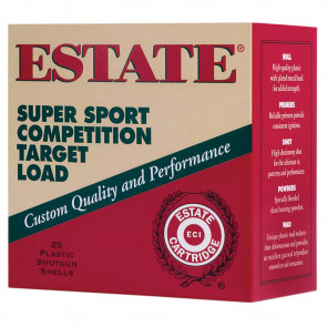 "SUPER SPORT COMPETITION TARGET LOADS - 28 GAUGE 2 ¾"" 3/4 OZ SHOT SIZE:8"