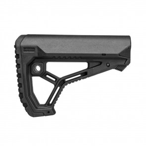 AR15/M4 BUTTSTOCK FOR MIL-SPEC AND COMMERCIAL TUBES - MATTE BLACK