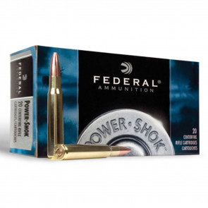 POWER-SHOK AMMUNITION - 243 WINCHESTER (6.16X51MM) SOFT POINT, 100 GRAIN