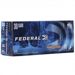 POWER-SHOK® AMMUNITION - .30 CARBINE - SOFT POINT RN - 110 GRAIN