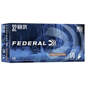 POWER-SHOK® AMMUNITION - .32 WINCHESTER SPECIAL - SOFT POINT FN - 170 GRAIN