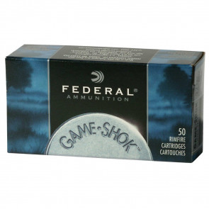 GAME-SHOK® - .22LR - COPPER PLATED SOLID - 40GR - 50RD/BX