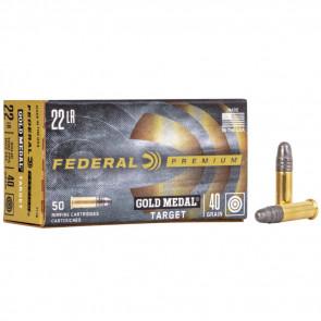 GOLD MEDAL® TARGET - .22LR - SOLID - 40GR - 50RD/BX