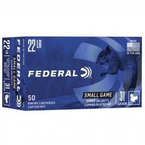 GAME-SHOK® - .22LR - COPPER PLATED HP - 31GR - 50RD/BX