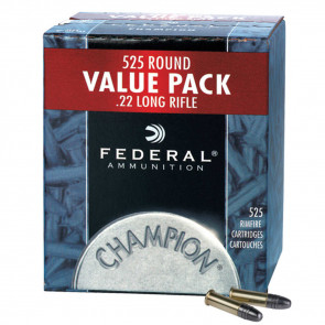CHAMPION® - .22LR - COPPER PLATED HP - 36GR - 525RD/BX