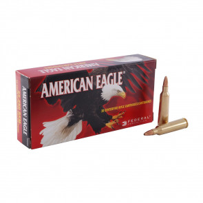 AMERICAN EAGLE® AMMUNITION - .22-250 REMINGTON JACKETED HOLLOW POINT, 50 GRAIN