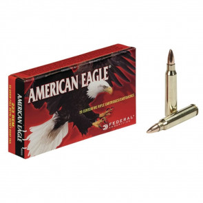 AMERICAN EAGLE® AMMUNITION - .223 REMINGTON (5.56X45MM) - FULL METAL JACKET BOAT-TAIL - 55 GRAIN